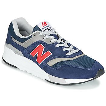 Schuhe Sneaker Low New Balance 997 Blau / Rot