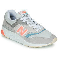 Schuhe Damen Sneaker Low New Balance 997 Grau / Blau / Rose