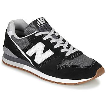 Schuhe Sneaker Low New Balance 996 Schwarz / Weiss
