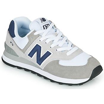 Schuhe Sneaker Low New Balance 574 Grau