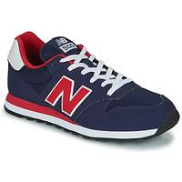 Schuhe Herren Sneaker Low New Balance 500 Blau / Rot