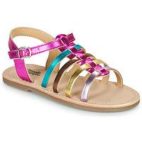 Schuhe Mädchen Sandalen / Sandaletten Citrouille et Compagnie MAYANA Multicolor