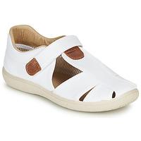 Schuhe Jungen Sandalen / Sandaletten Citrouille et Compagnie GUNCAL Weiss