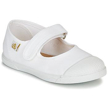 Schuhe Mädchen Ballerinas Citrouille et Compagnie APSUT Weiss