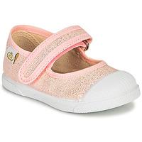 Schuhe Mädchen Ballerinas Citrouille et Compagnie APSUT Rose