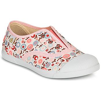 Schuhe Mädchen Sneaker Low Citrouille et Compagnie RIVIALELLE Rose / Multicolor