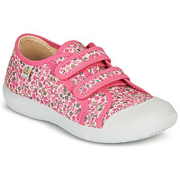 Schuhe Mädchen Sneaker Low Citrouille et Compagnie GLASSIA Rose / Multicolor