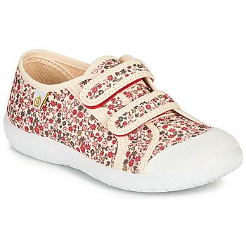 Schuhe Mädchen Sneaker Low Citrouille et Compagnie GLASSIA Naturfarben / Multicolor