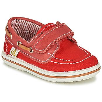 Schuhe Jungen Bootsschuhe Citrouille et Compagnie GASCATO Rot