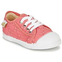 Schuhe Mädchen Sneaker Low Citrouille et Compagnie MALIKA Rose