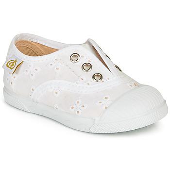 Schuhe Kinder Sneaker Low Citrouille et Compagnie RIVIALELLE Weiss