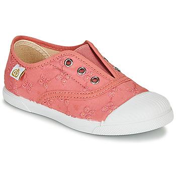 Schuhe Mädchen Sneaker Low Citrouille et Compagnie RIVIALELLE Rose