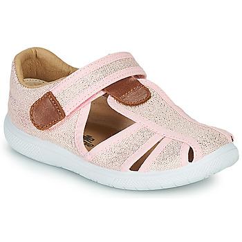 Schuhe Mädchen Sandalen / Sandaletten Citrouille et Compagnie GUNCAL Rose