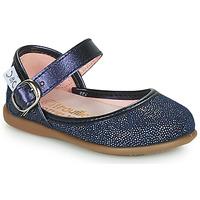 Schuhe Mädchen Ballerinas Citrouille et Compagnie JARITO Marine