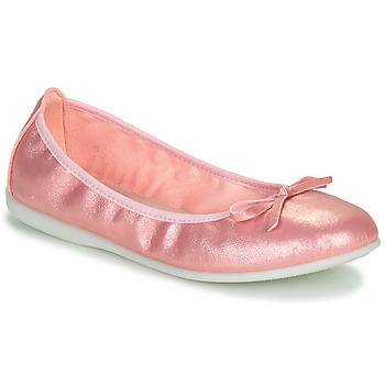 Schuhe Mädchen Ballerinas Citrouille et Compagnie INOBALI Rose