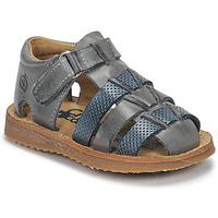 Schuhe Jungen Sandalen / Sandaletten Citrouille et Compagnie MISTIGRI Grau / Blau