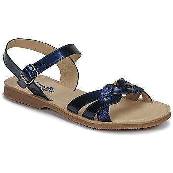 Schuhe Mädchen Sandalen / Sandaletten Citrouille et Compagnie MADELLE Marine