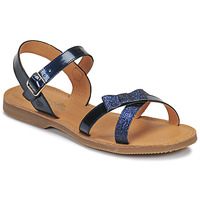 Schuhe Mädchen Sandalen / Sandaletten Citrouille et Compagnie JISCOTTE Marine
