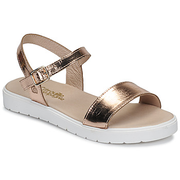 Schuhe Mädchen Sandalen / Sandaletten Citrouille et Compagnie GAPOTI Bronze