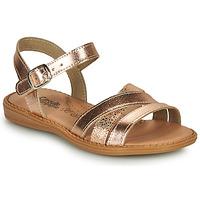 Schuhe Mädchen Sandalen / Sandaletten Citrouille et Compagnie IZOEGL Bronze