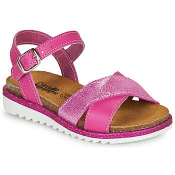 Schuhe Mädchen Sandalen / Sandaletten Citrouille et Compagnie GAUFRETTE Rose
