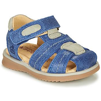 Schuhe Jungen Sandalen / Sandaletten Citrouille et Compagnie MABILOU Blau