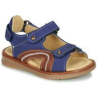 Schuhe Jungen Sandalen / Sandaletten Citrouille et Compagnie MASTIKO Blau