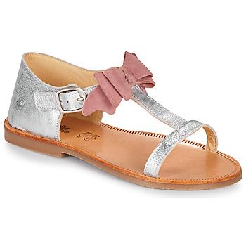 Schuhe Mädchen Sandalen / Sandaletten Citrouille et Compagnie MELINDA Rose / Gold
