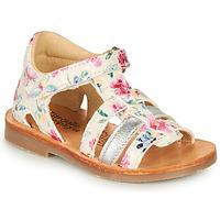 Schuhe Mädchen Sandalen / Sandaletten Citrouille et Compagnie MIDINA Multicolor