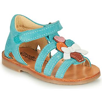 Schuhe Mädchen Sandalen / Sandaletten Citrouille et Compagnie MIETTE Grün