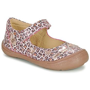Schuhe Mädchen Ballerinas Citrouille et Compagnie JALIPINE Leopard