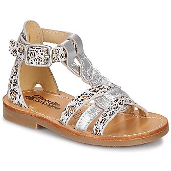 Schuhe Mädchen Sandalen / Sandaletten Citrouille et Compagnie GITANOLO Leopard