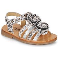 Schuhe Mädchen Sandalen / Sandaletten Citrouille et Compagnie MALINETTE Leopard