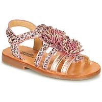 Schuhe Mädchen Sandalen / Sandaletten Citrouille et Compagnie MARINAS Rose