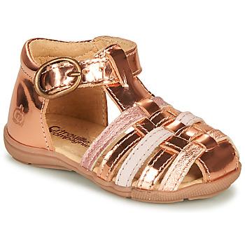 Schuhe Mädchen Sandalen / Sandaletten Citrouille et Compagnie RINE Rose