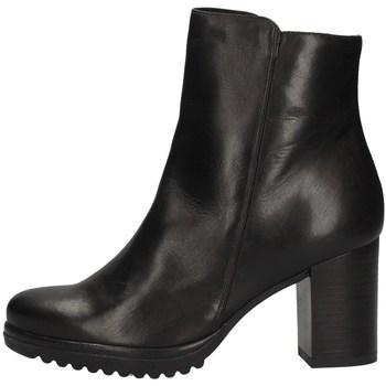 Schuhe Damen Ankle Boots Keys K-067 BLACK