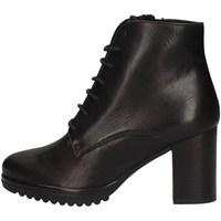 Schuhe Damen Ankle Boots Keys K-065 BLACK