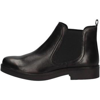 Schuhe Damen Ankle Boots Keys K-071 BLACK