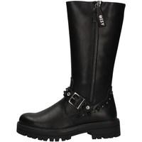 Schuhe Mädchen Klassische Stiefel Asso AG-3503 BLACK