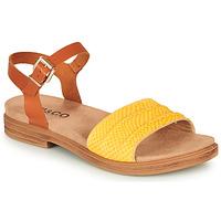 Schuhe Damen Sandalen / Sandaletten IgI&CO 5170711 Cognac / Gelb