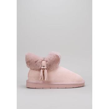 Schuhe Damen Schneestiefel Krack  Rose