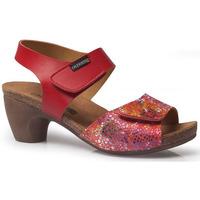 Schuhe Damen Sandalen / Sandaletten Calzamedi SOMMER 2020 SANDALEN ROT