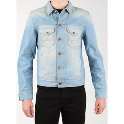 Kleidung Herren Jeansjacken Wrangler Jeansjacke  Denim Jacket W458QE20T blau