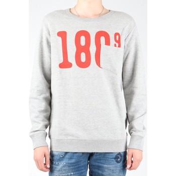 Kleidung Herren Fleecepullover Lee Sweatshirt  Pocket Crew SWS L81APP37 grau, rot