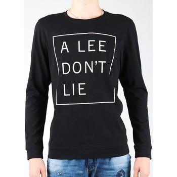 Kleidung Herren Langarmshirts Lee T-Shirt  Don`t Lie Tee LS L65VEQ01 schwarz, weiß