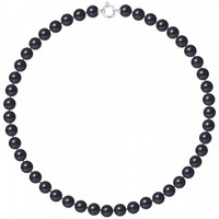 Uhren & Schmuck Damen Collier Blue Pearls BPS K064 W - OB Multicolor