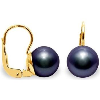 Uhren Damen Ohrringe Blue Pearls BPS K637 W Multicolor
