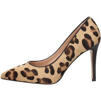 Schuhe Damen Pumps Noa MS855 BROWN