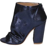 Schuhe Damen Ankle Boots Me + By Marc Ellis BP120 Blau