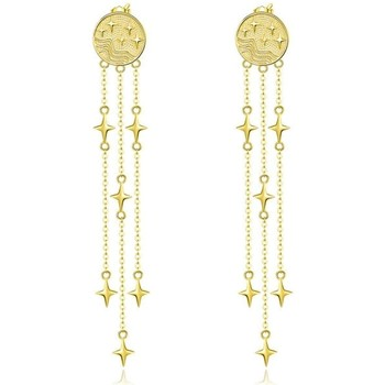 Uhren & Schmuck Damen Ohrringe Blue Pearls CRY C2352 J Gold